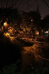 Luodong (Taiwan): Brücke im Park