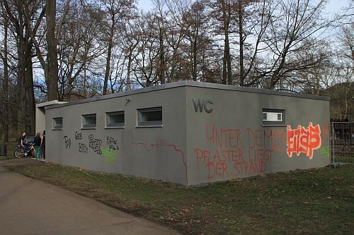 Das Halbmillionenklo mit seiner innovativen Bunkerarchitektur
