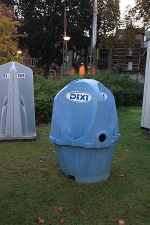 geschlechtseindeutige, eingegenderte Toilette, Hasselt, Belgien