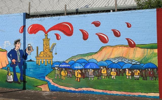 Belfast, Solidarity Wall