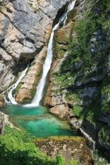 Der teuerste Wasserfall Sloweniens - Slap Savica