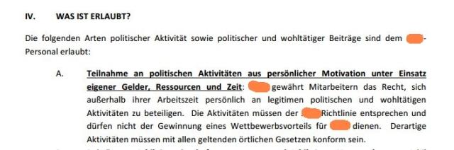 Polit-Richtlinie