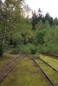 Grubenbahnen im Staatsbruch Lehesten