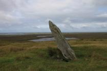 Auf Uist fallen die Steine langsamer um als anderswo ...