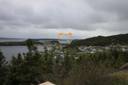 Dover Fault - eine kleine Lücke in den Felsen als letzter Rest einer Katastrophe