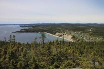 Sandy Cove - die White Cliffs von Neufundland