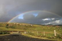 normaler, bunter Regenbogen, Isle of Skye